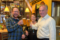 Tim Kaine at Hopworks
