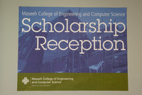 PSU Maseeh College Scholarship Reception