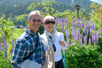 John and Peggy visit Hood River and the Oregon Garden 2017